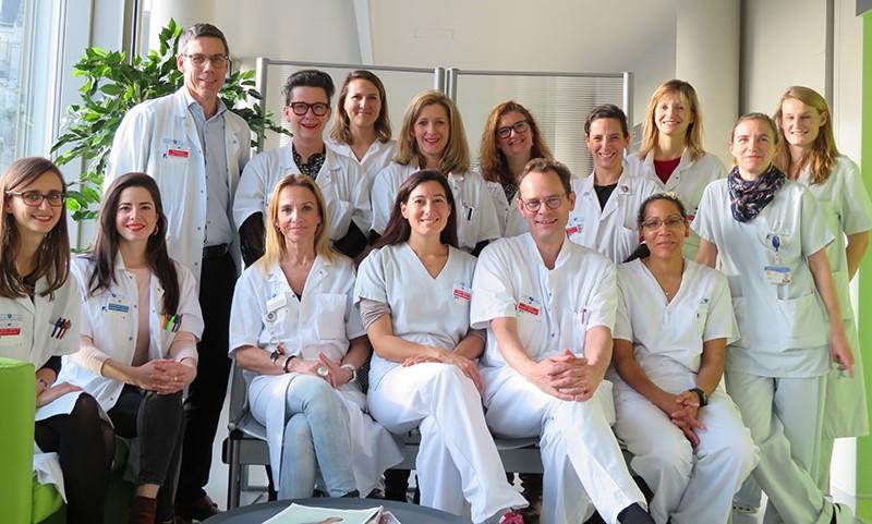 Equipe DPNI de la Maternité Port Royal